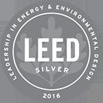 Logo: 2016 LEED Silver Certification