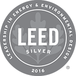 Logo: 2016 LEED Silver Certification